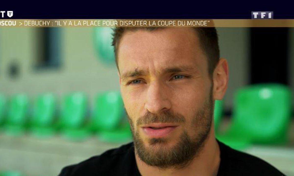 """Objectif Moscou - Debuchy : """"Il y a de la place pour disputer la Coupe du monde"""""""