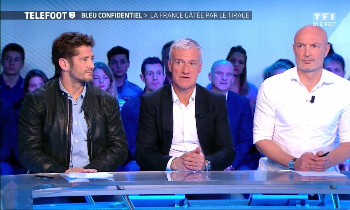 """Deschamps : """"Martial et Coman sont hors normes"""""""