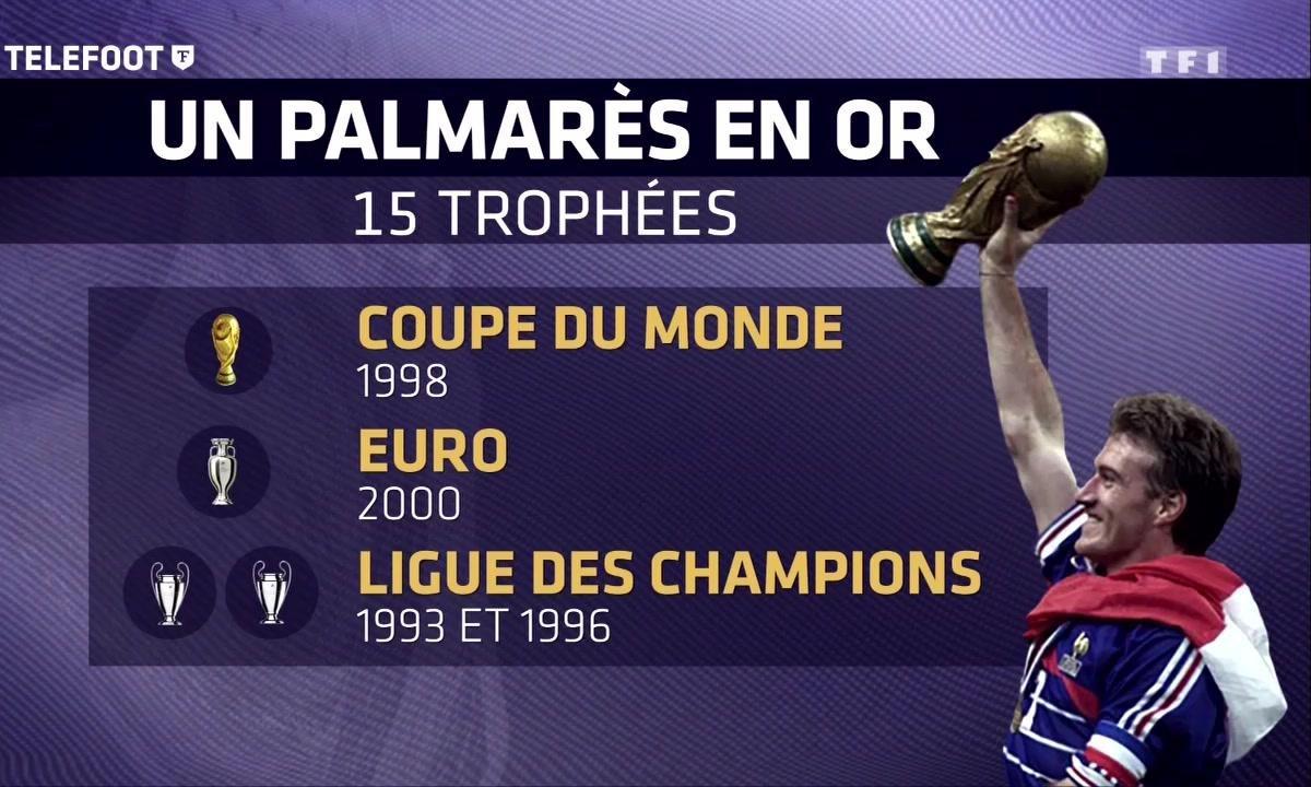 Didier Deschamps, le plus beau palmarès du foot français