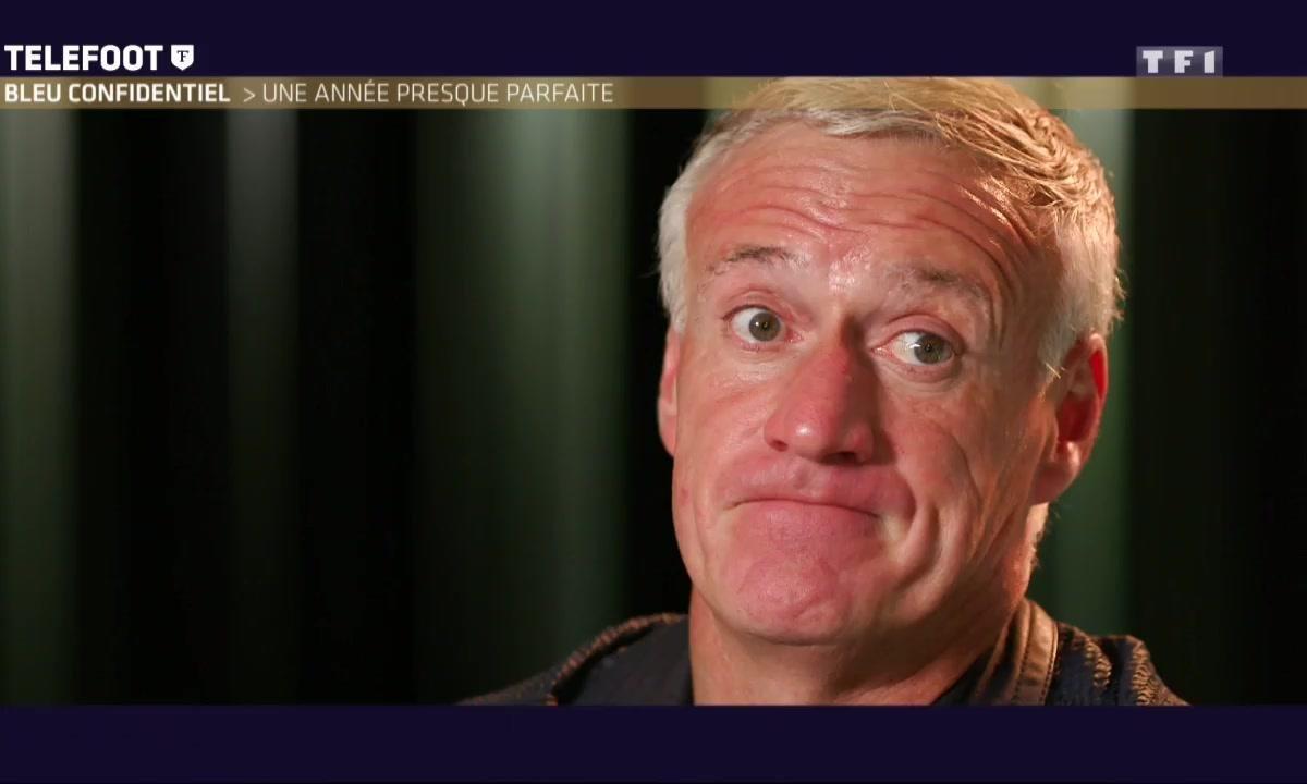 [Téléfoot 18/12] Didier Deschamps revient sur le poteau de Gignac
