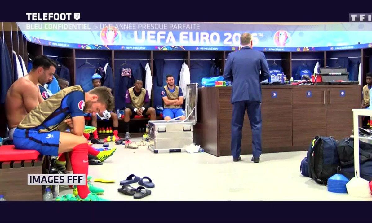 [Téléfoot 18/12] Le discours de Didier Deschamps à  la mi-temps de France-Irlande