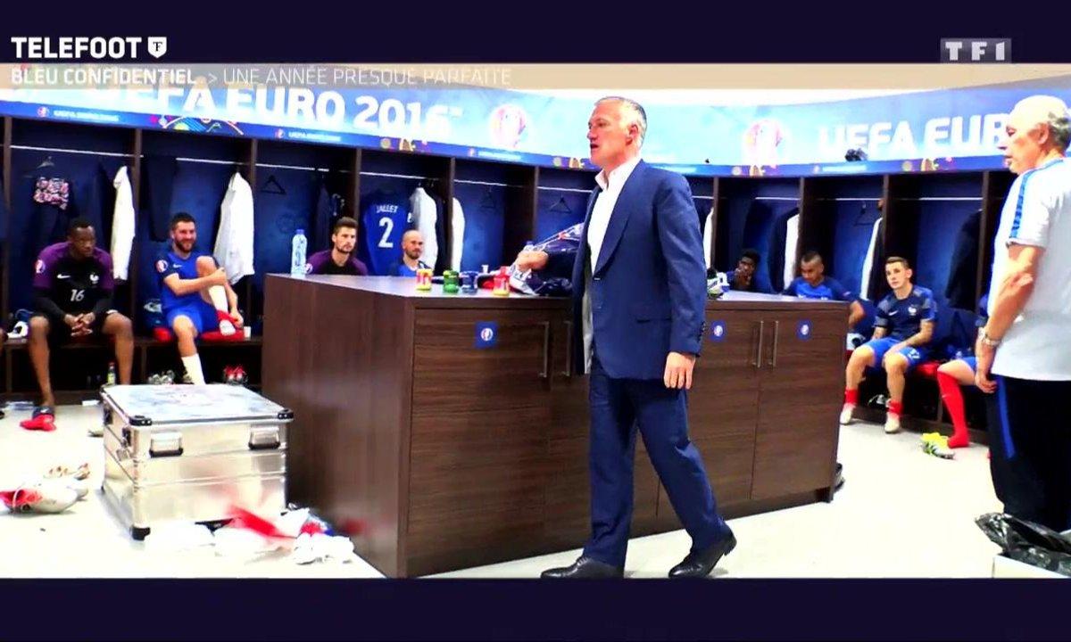 [Téléfoot 18/12] Le discours de Didier Deschamps après la victoire contre l'Irlande