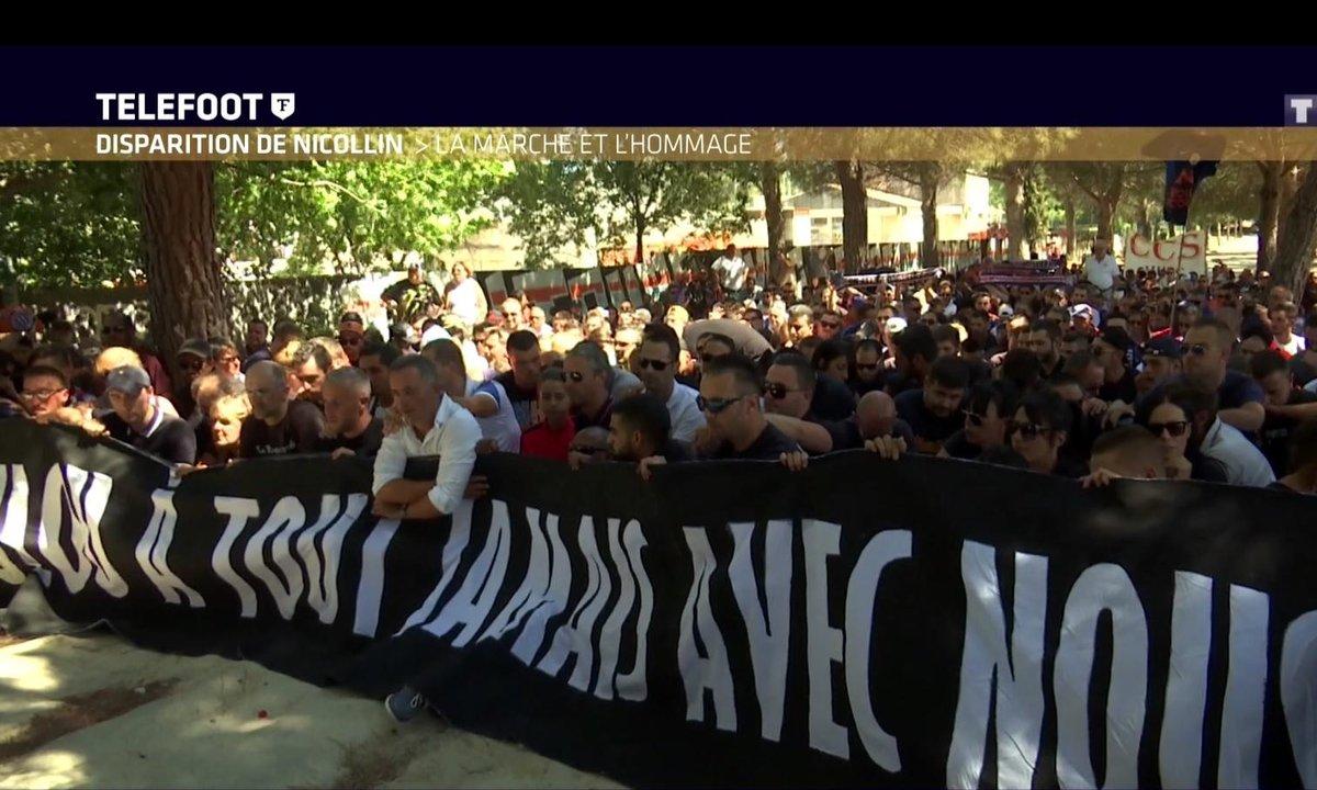 Disparition de Nicollin : La marche et l'hommage