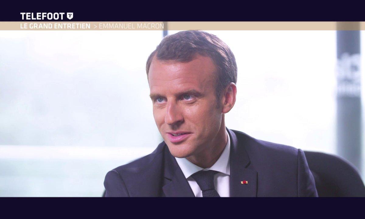 Emmanuel Macron dans Téléfoot : son interview en intégralité (EXCLU WEB)