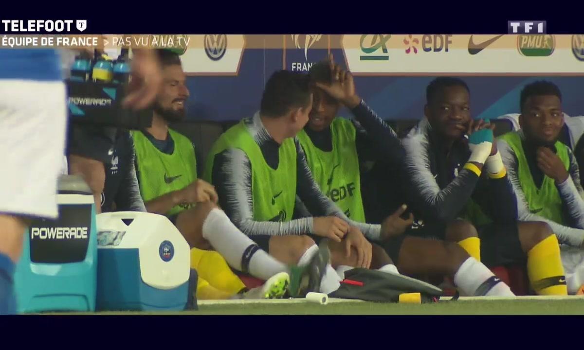 Equipe de France : Le Pas vu à la TV
