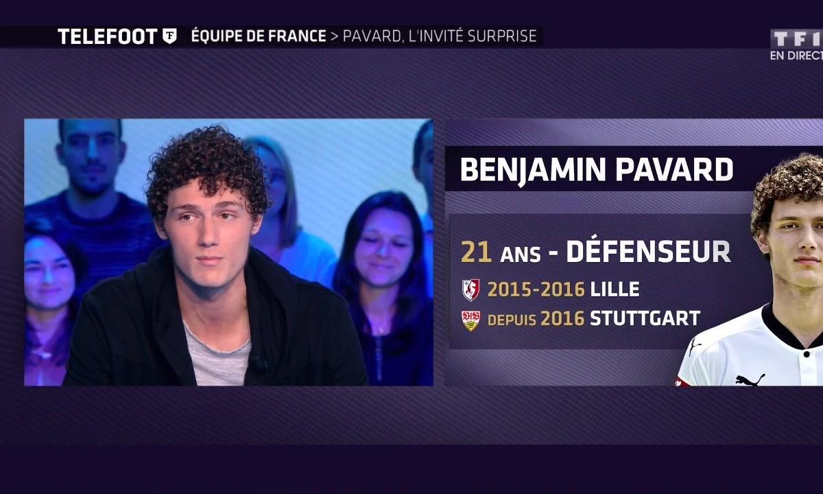 Equipe de France, Benjamin Pavard, l'invité surprise