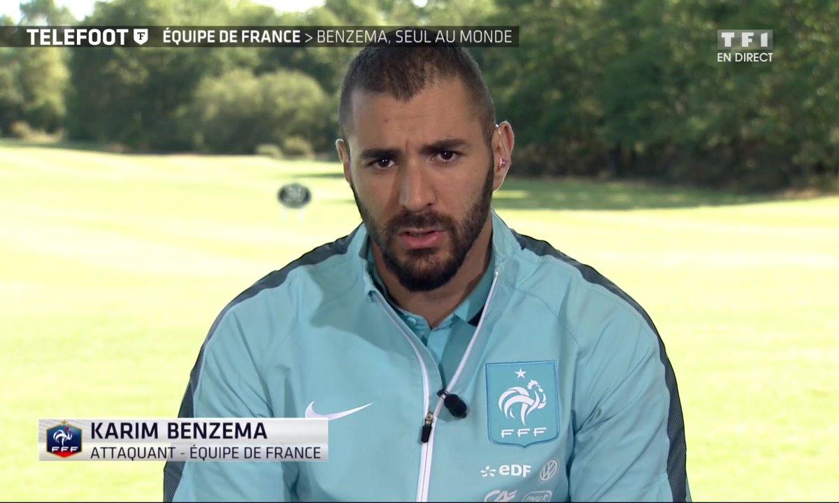 Equipe de France : duplex avec Karim Benzema