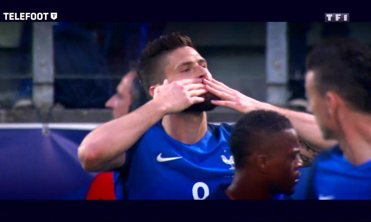 Equipe de France : Giroud, la réconciliation
