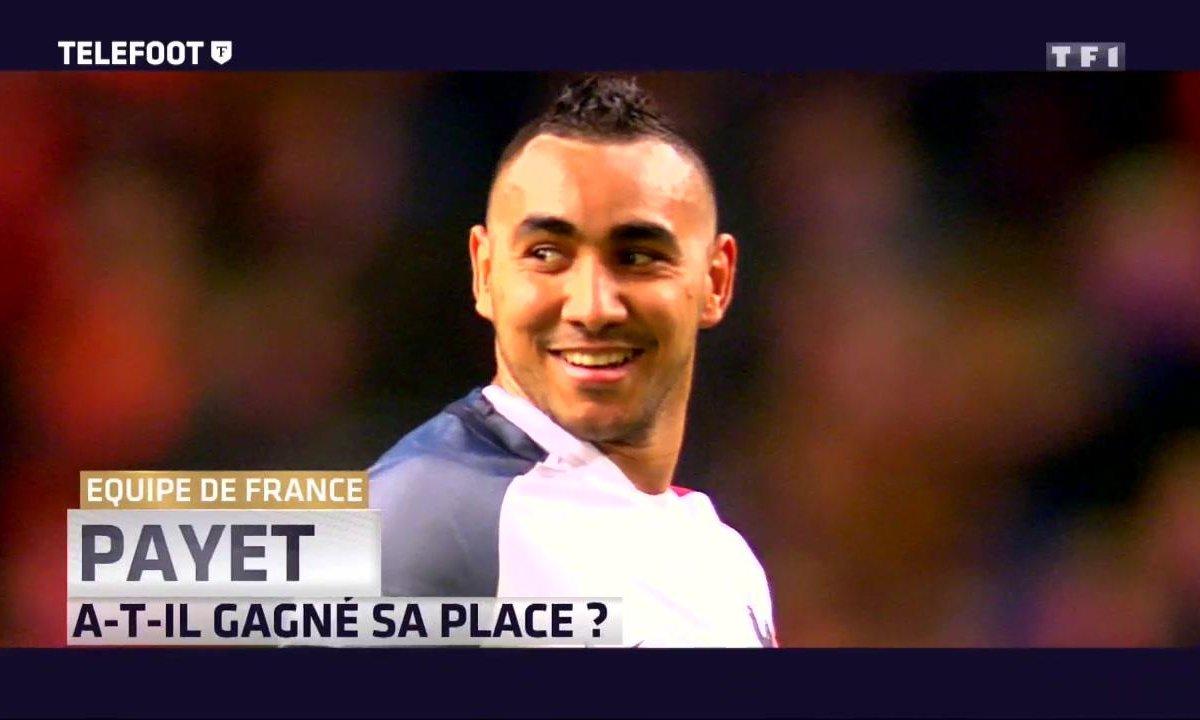 Equipe de France : Payet a-t-il gagné sa place ?