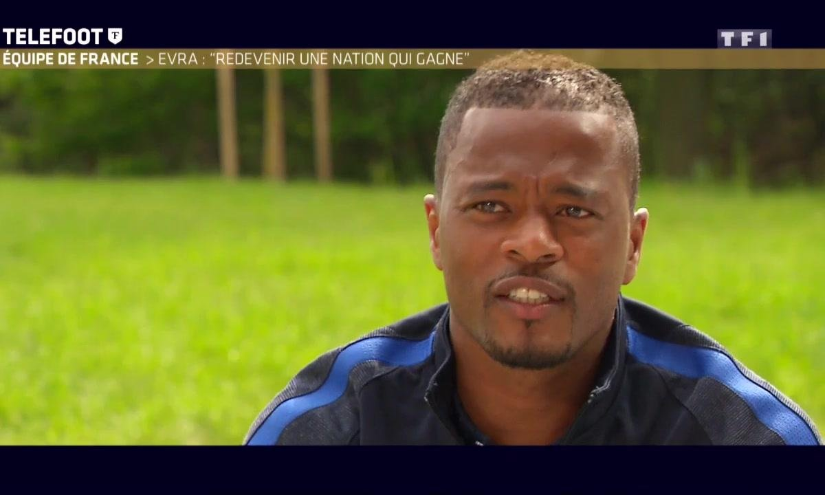 "Equipe de France - Evra : ""Redevenir une nation qui gagne"""