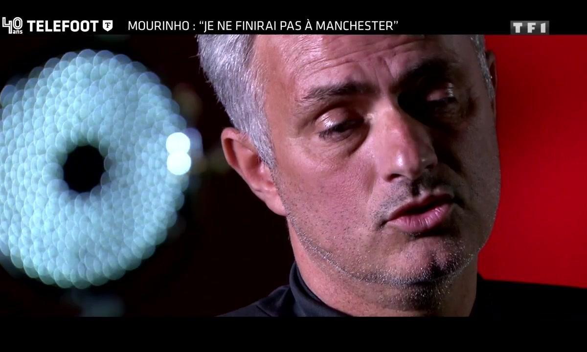 """EXCLU TELEFOOT - José Mourinho : """"Je ne finirai pas à MU"""""""