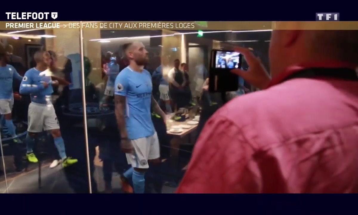 Les fans de Manchester City aux premières loges !