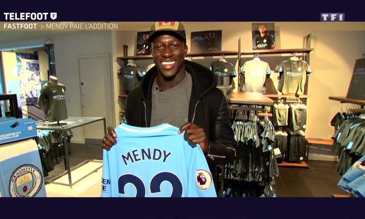 FastFoot : Benjamin Mendy paie l'addition