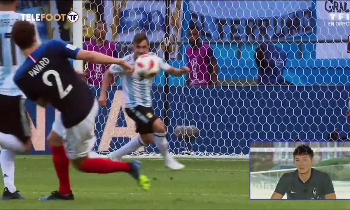 """""""Faut pas que je tue un pigeon"""" : Pavard revient sur son but incroyable face à l'Argentine"""