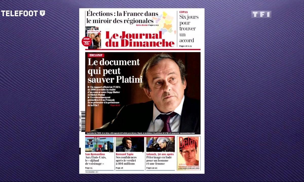 FIFA : Michel Platini pourrait être sauvé grâce à un document