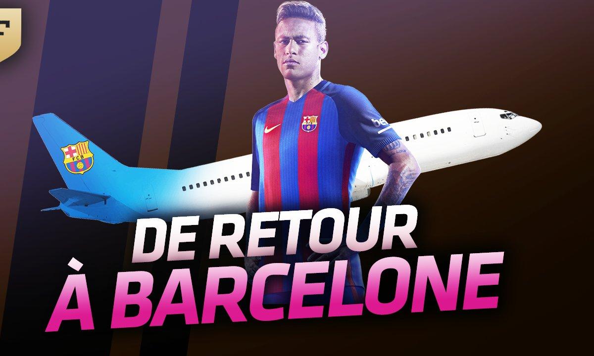 Le Flash Mercato du 01 août : Neymar de retour à Barcelone !