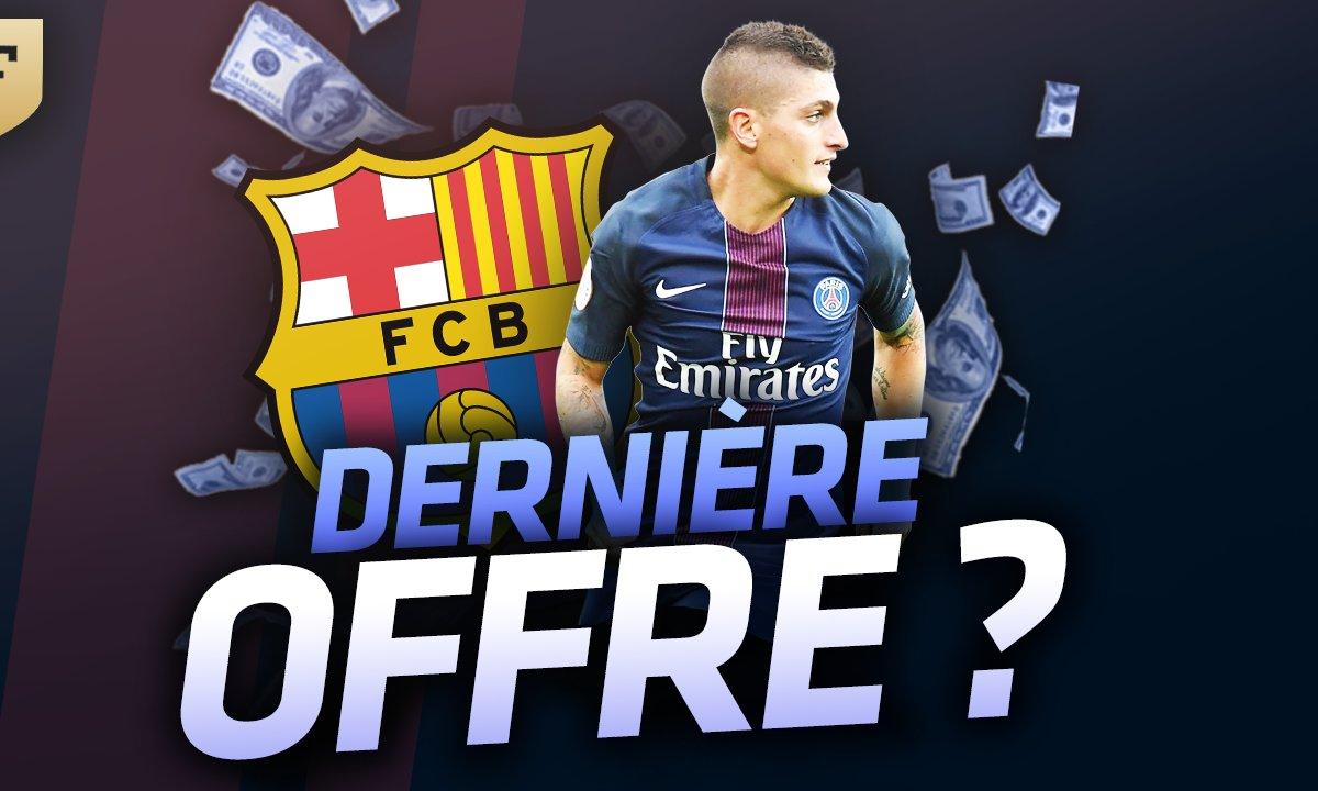 Le Flash Mercato du 17 juillet : Une nouvelle offre du Barça pour Verratti ? Agüero intéresse Chelsea