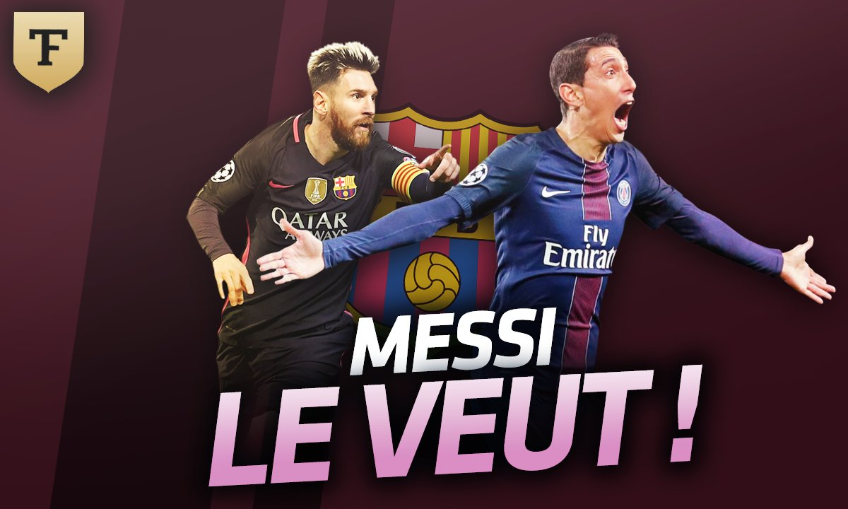 Le Flash Mercato du 18 août : Leo Messi veut Di Maria au Barça !