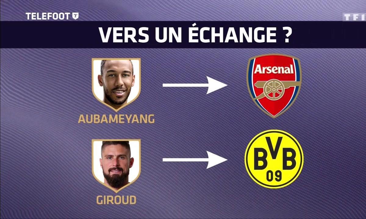 Info Téléfoot : Première offre d'Arsenal pour Aubameyang