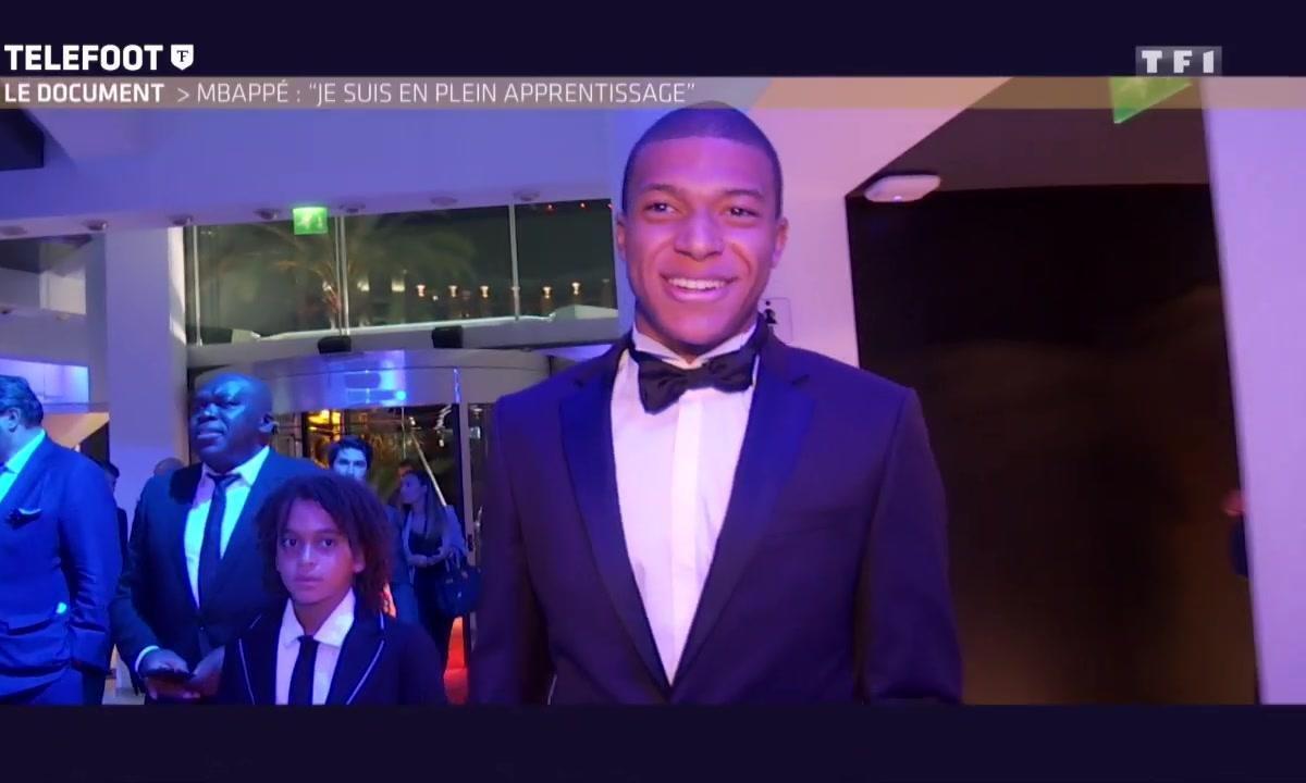 """Kylian Mbappé : """"Je suis en plein apprentissage"""""""