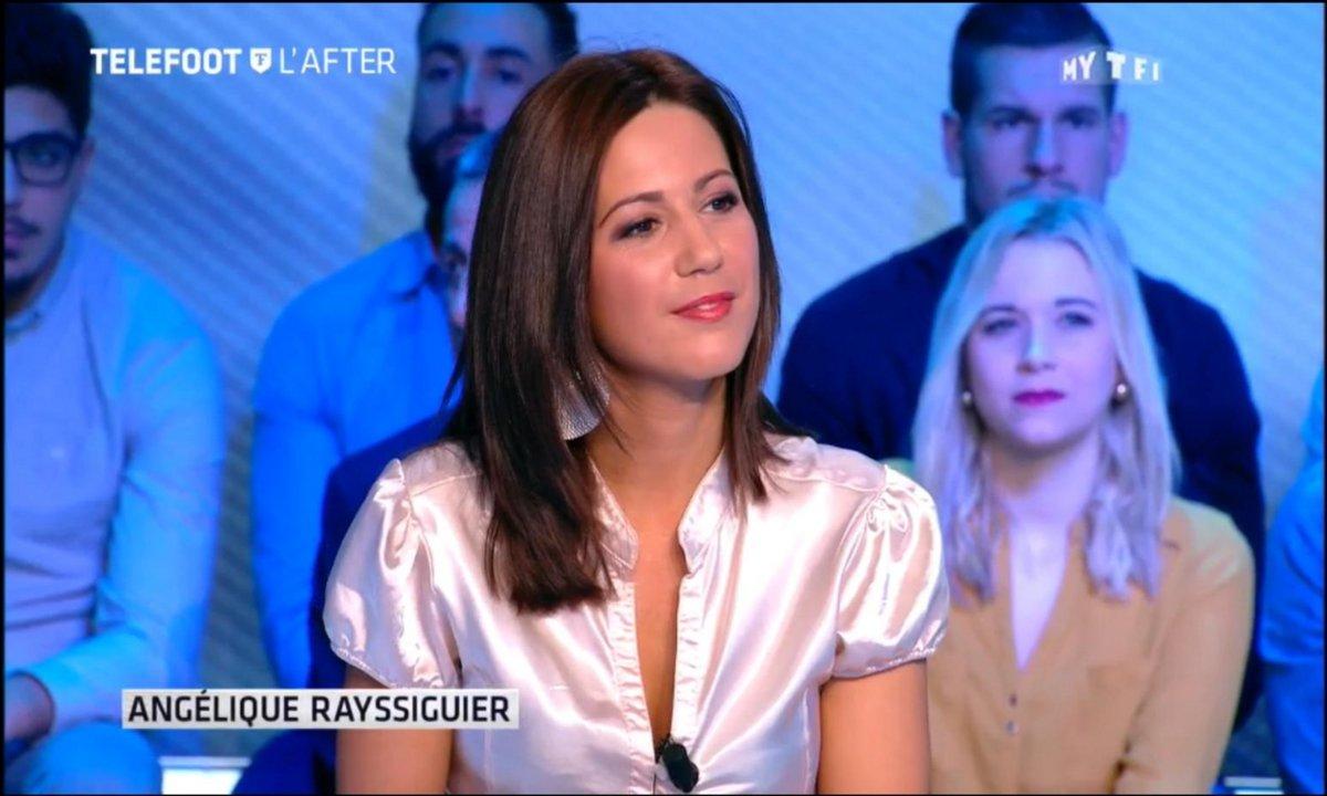 Téléfoot, l'After –  Ma 1ère télé : Angélique Rayssiguier
