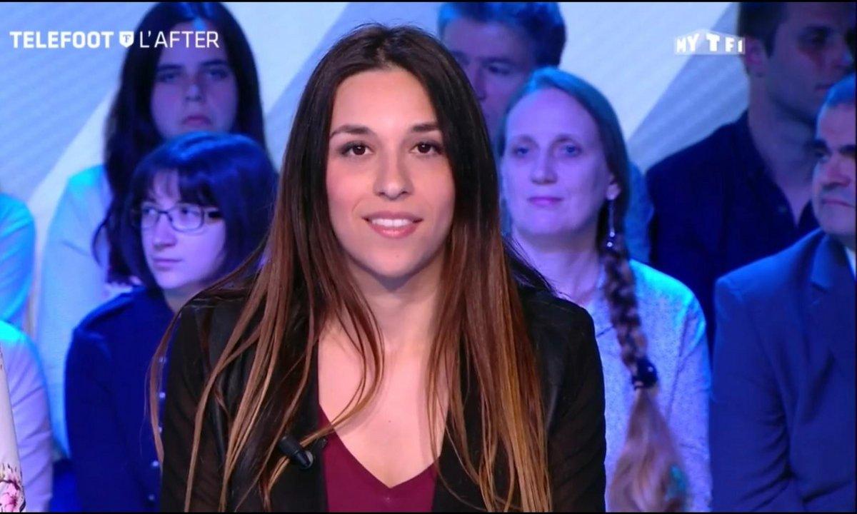 Téléfoot, l'After – Ma 1ère télé : Marion Santiago