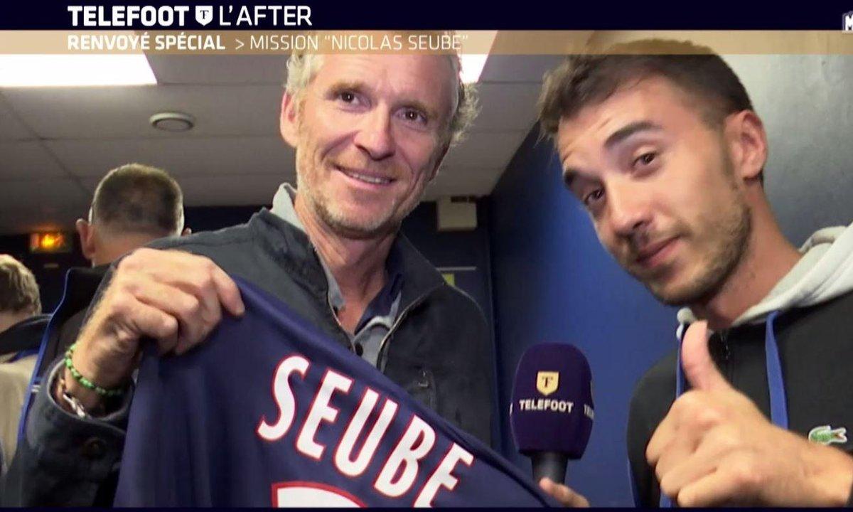 Téléfoot, l'After - Addition  : le maillot de Nicolas Seube