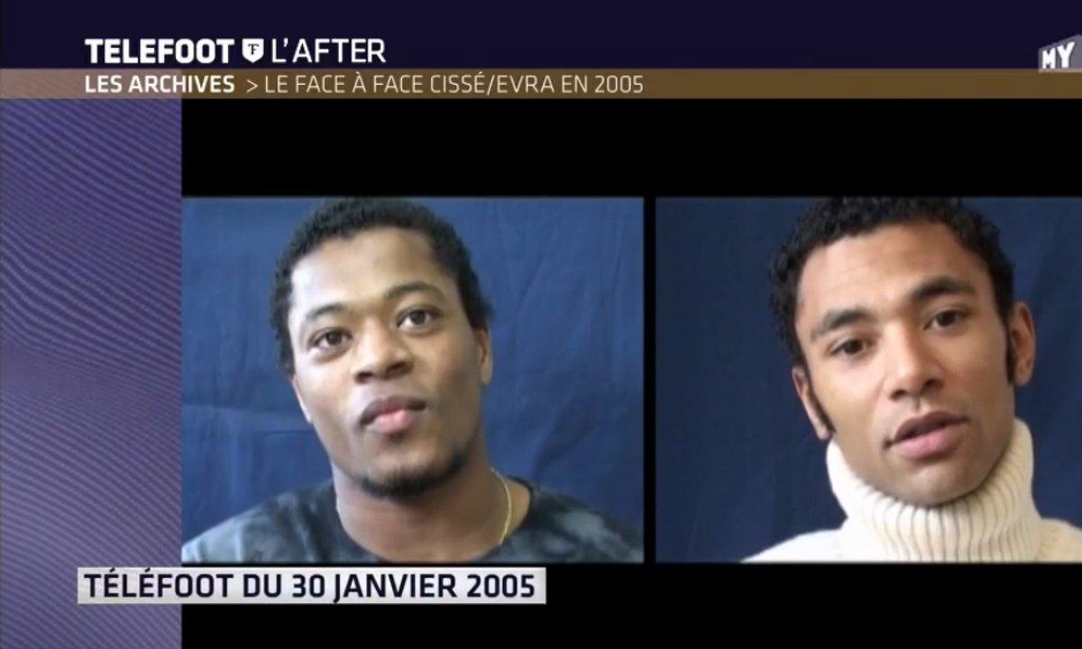 Les archives de Téléfoot du 16 octobre 2016 : Le face à face Cissé/Evra