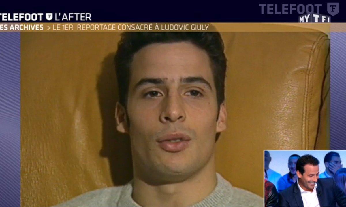Les archives de Téléfoot du 2 octobre 2016 : le 1er reportage consacré à Ludovic Giuly en 1995