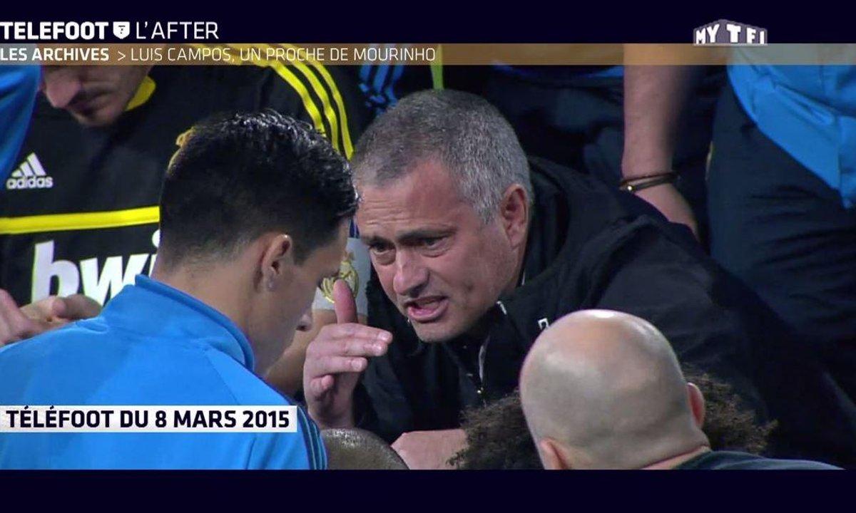 Téléfoot, l'After - Les Archives : Luis Campos, un proche de Mourinho