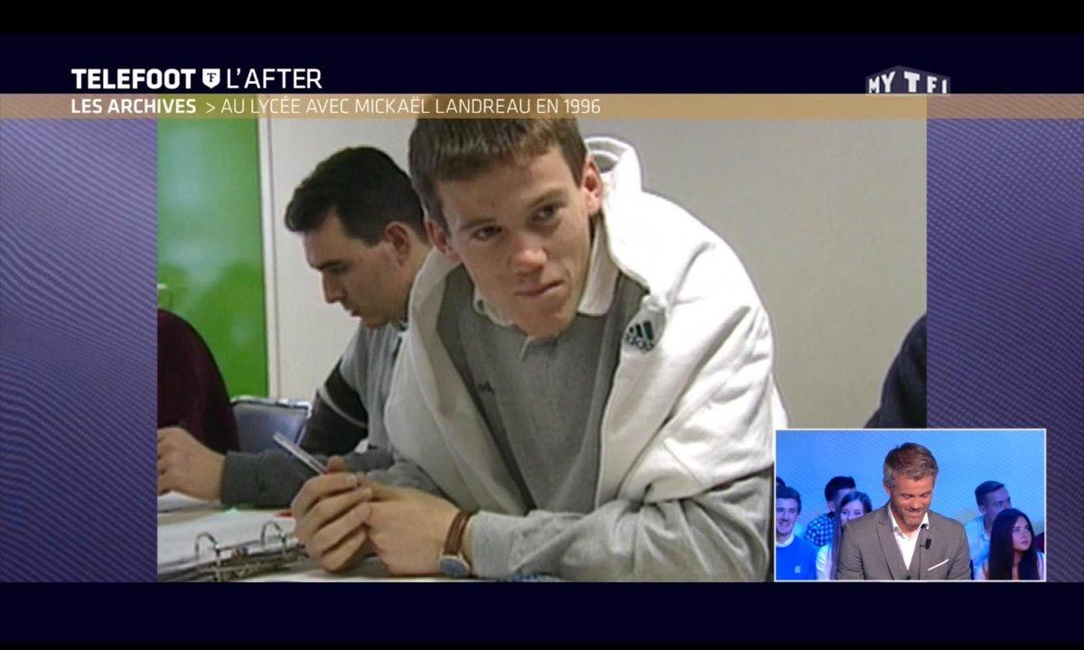 Téléfoot, l'After - Les Archives : Au lycée avec Mickaël Landreau en 1996