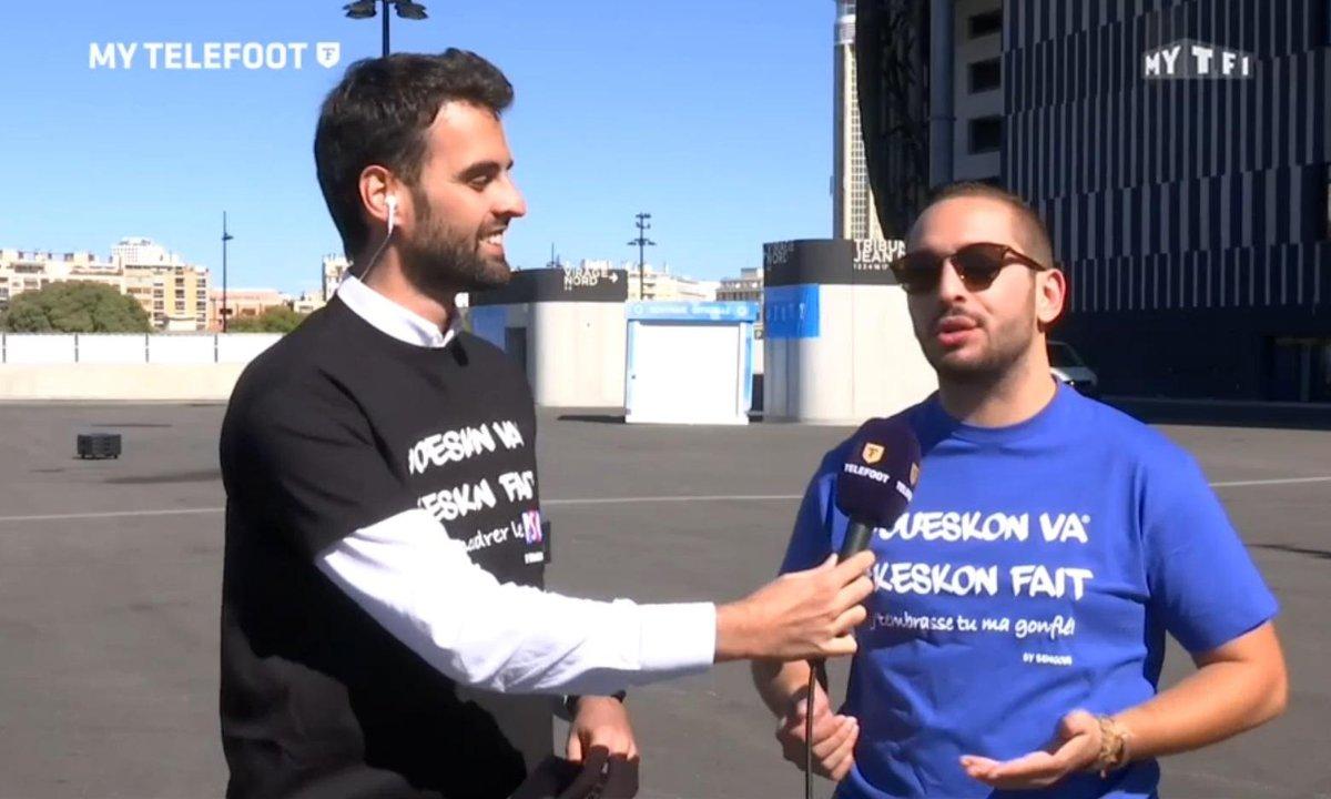 "MyTELEFOOT - Bengous avant OM-OL : ""Valbuena va se faire siffler"""
