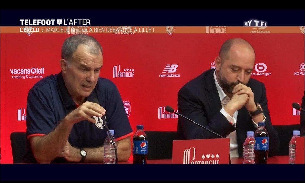Téléfoot, l'After - Bielsa au LOSC, l'analyse de Garcia et Lizarazu