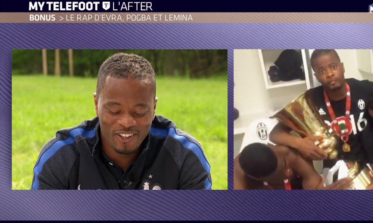 MyTELEFOOT L'After - Bonus : le rap d'Evra, Pogba et Lemina