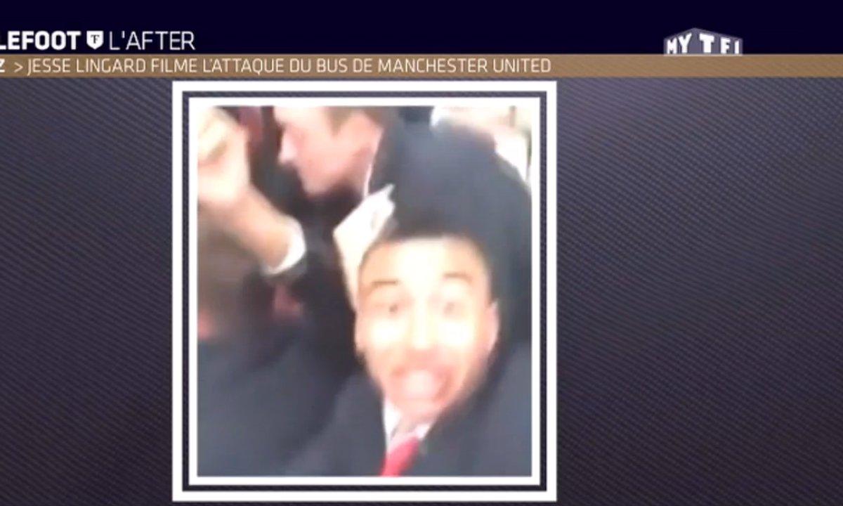 MyTELEFOOT L'After - Le Buzz : Le bus de Manchester United caillassé