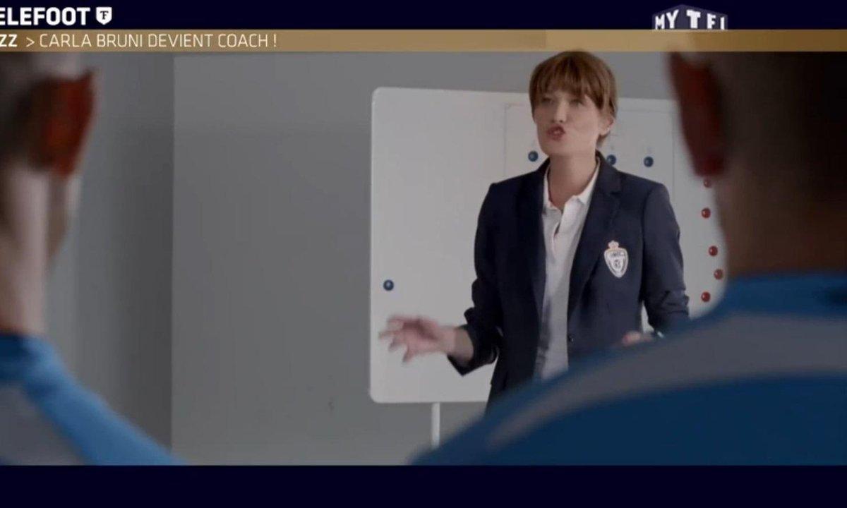 MyTELEFOOT - Le Buzz : Carla Bruni devient coach !