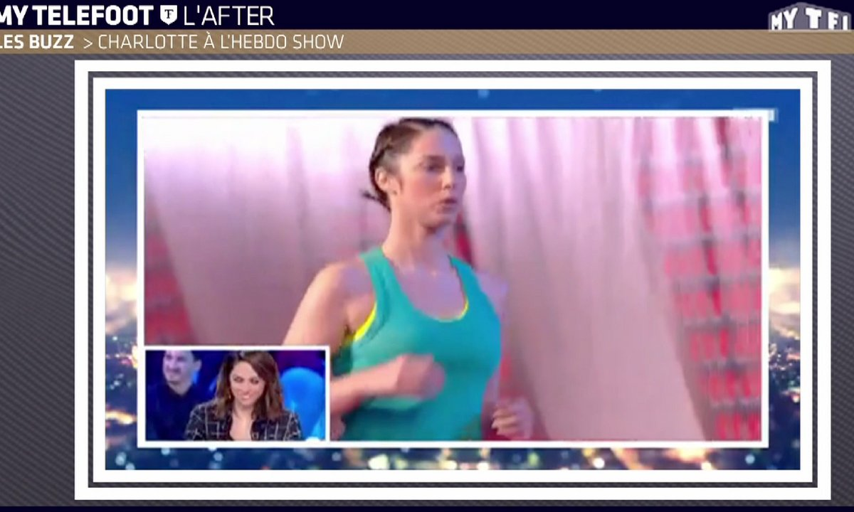 MyTELEFOOT L'After - Le Buzz : Charlotte Namura joue à Ninja Warrior