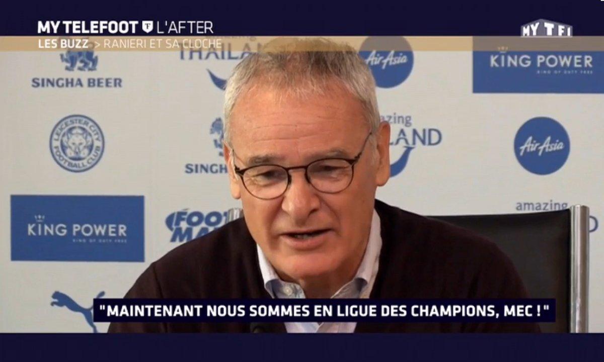 MyTELEFOOT L'After - Le Buzz : Claudio Ranieri exprime sa joie d'être qualifié en Ligue des Champions