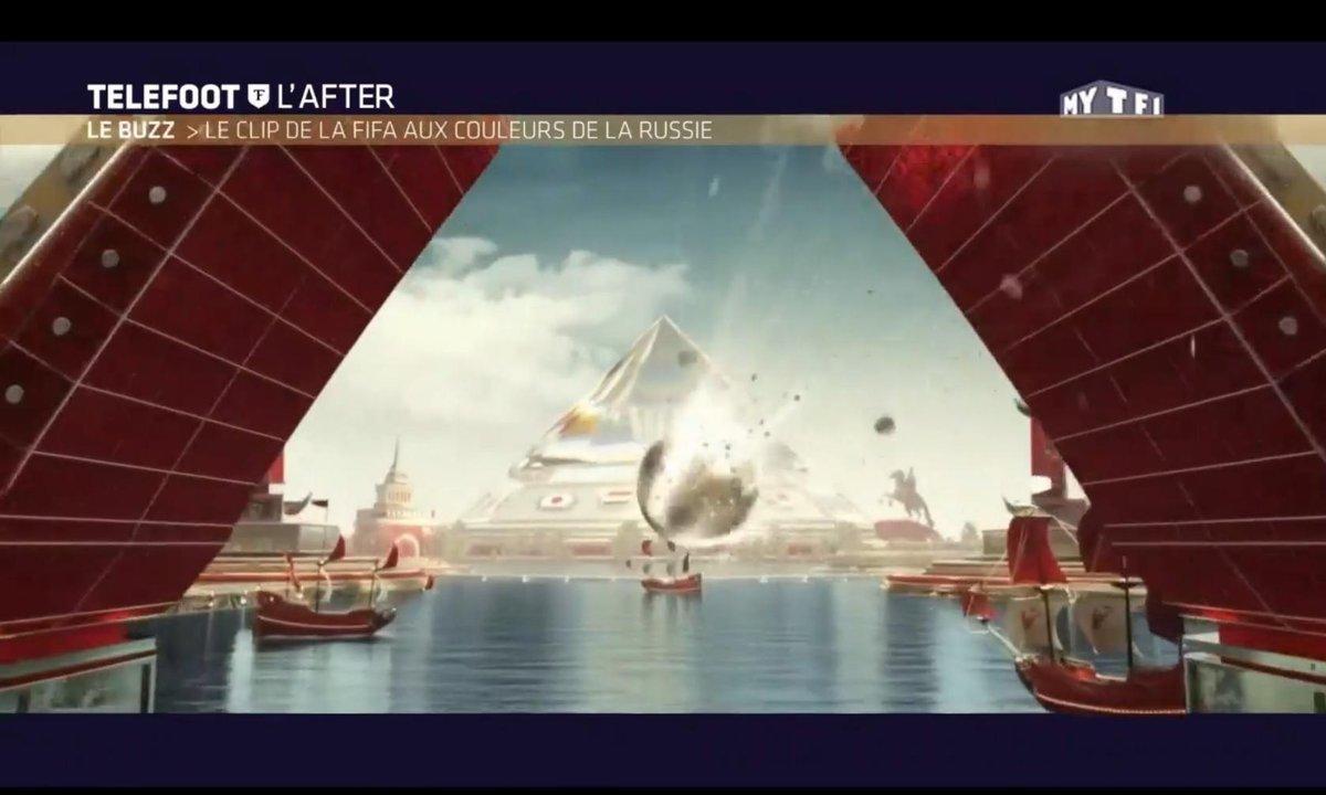 Téléfoot, l'After - Le Buzz : Le clip de la FIFA aux couleurs de la Russie