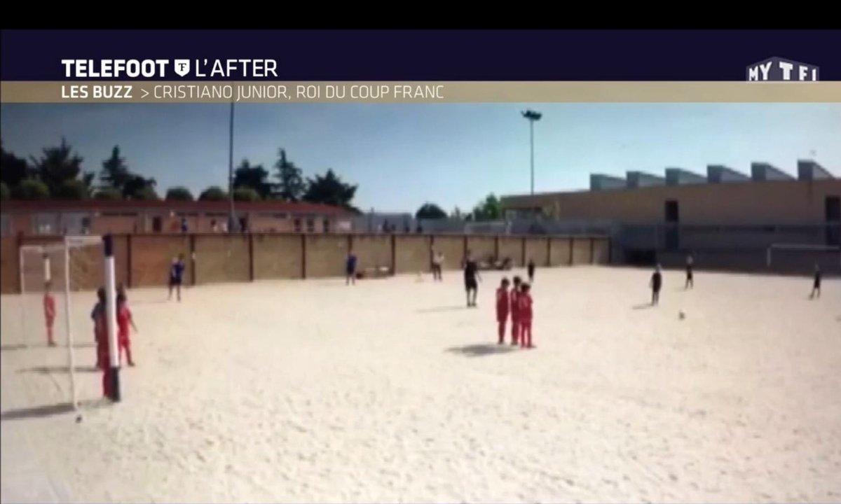 Téléfoot, l'After - Le Buzz : Cristiano Junior, roi du coup franc