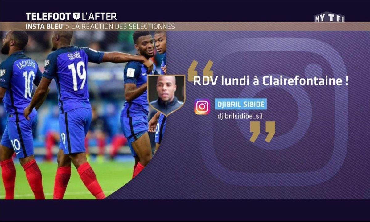 Téléfoot, l'After - Insta Bleu : Kimpembe, Sidibé, Ben Yedder