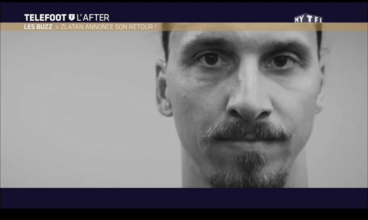 Téléfoot, l'After - Le Buzz de la semaine : Zlatan annonce son retour