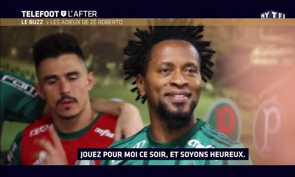 Téléfoot, l'After - Le buzz : Le discours émouvant de Ze Roberto