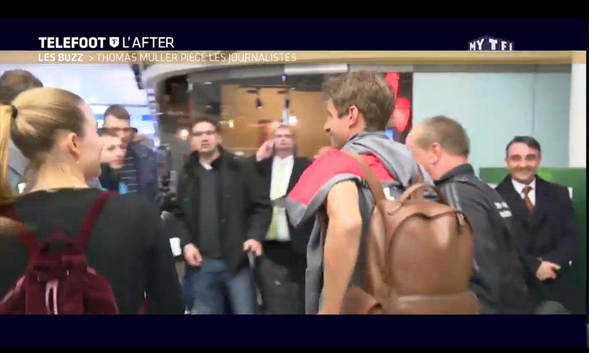 Téléfoot, l'After - Le Buzz : Le drôle de téléphone de Thomas Müller