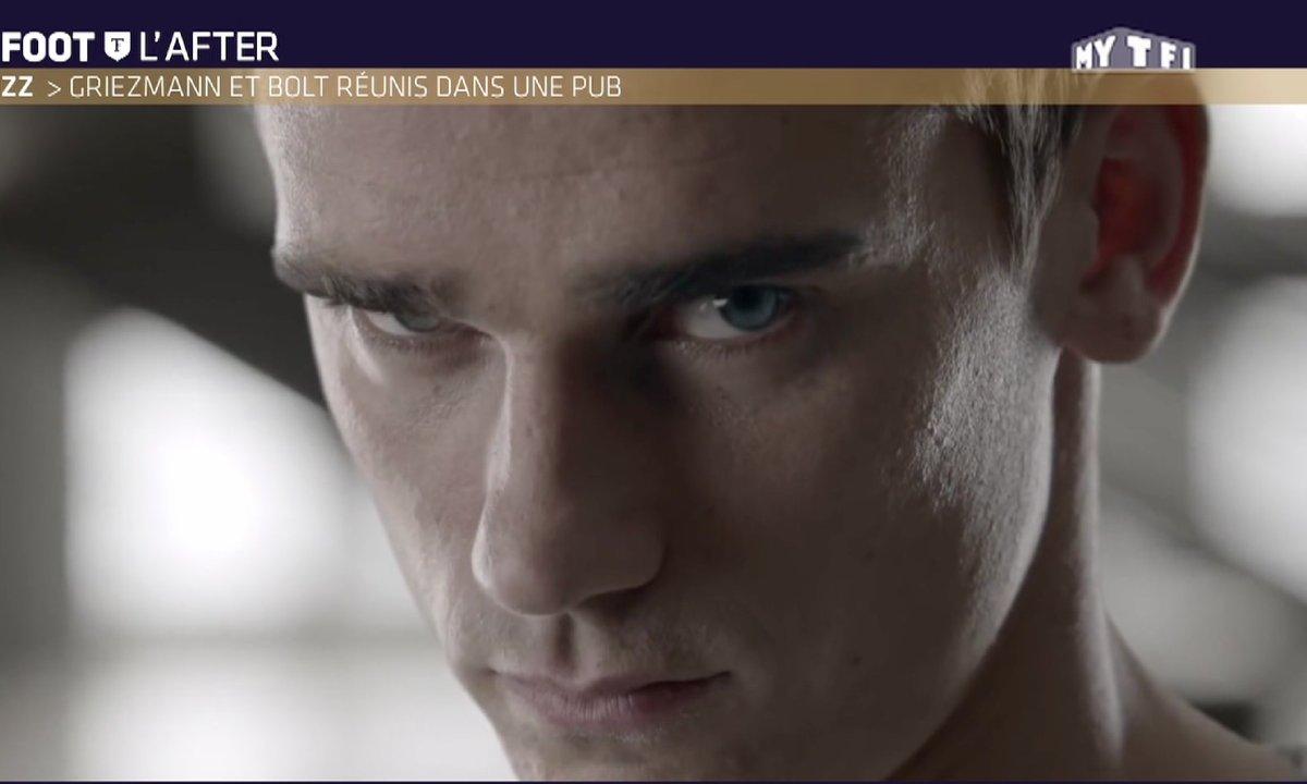 Téléfoot, l'After - Le Buzz : Griezmann et Bolt réunis dans une publicité