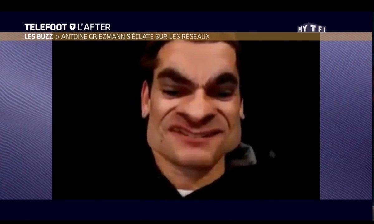 Téléfoot, l'After - Le Buzz : Griezmann s'amuse sur les réseaux sociaux