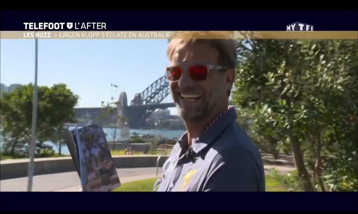 Téléfoot, l'After - Le Buzz : Jurgen Klopp s'éclate en Australie