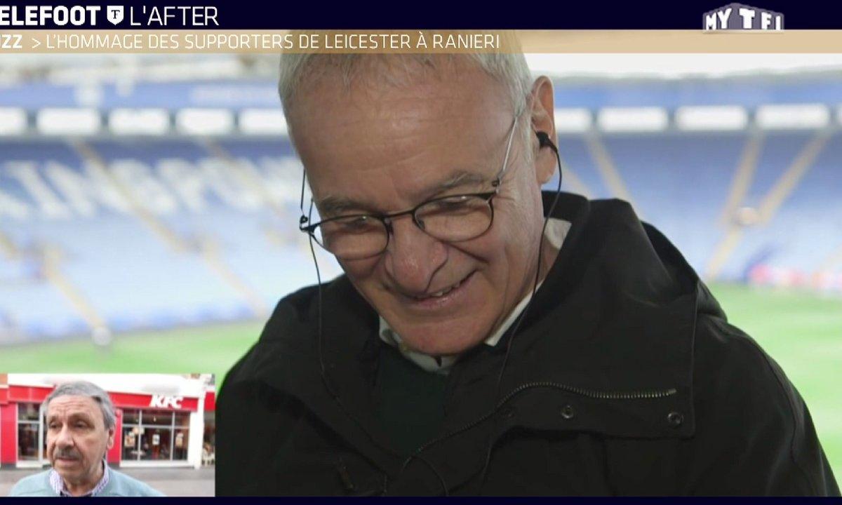 MyTELEFOOT L'After - Le Buzz : l'hommage des supporters de Leicester à Ranieri