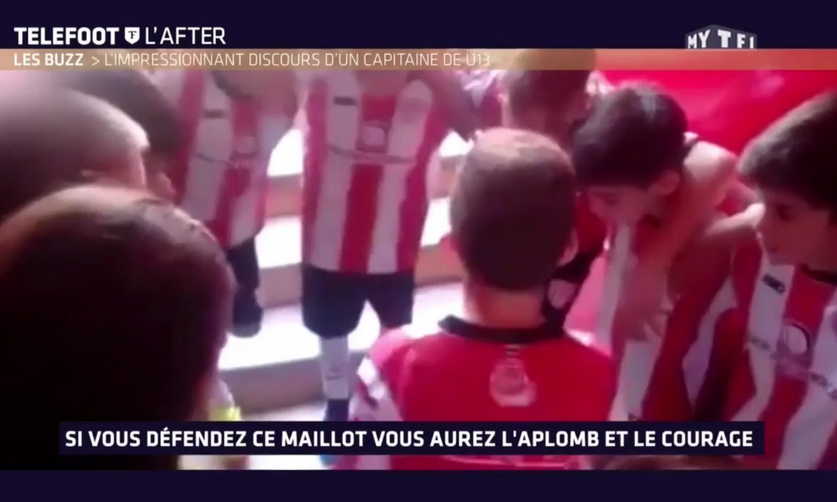 Téléfoot, l'After - Le Buzz : L'impressionnant discours d'un capitaine U13