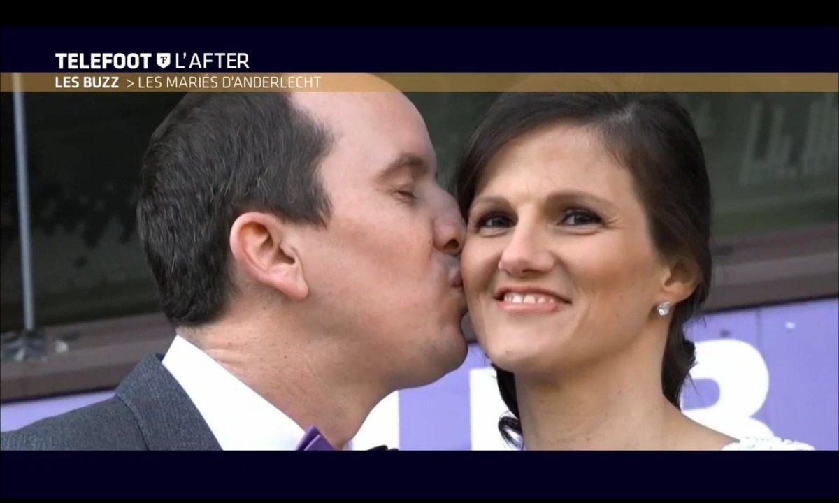 Téléfoot, l'After - Le Buzz : Les mariés d'Anderlecht